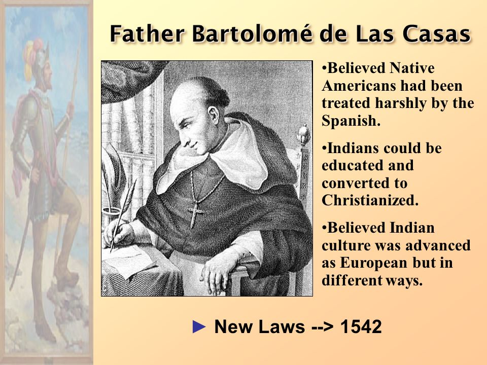 Father Bartolomé de Las Casas