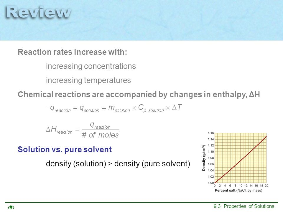 Reaction rates increase with: