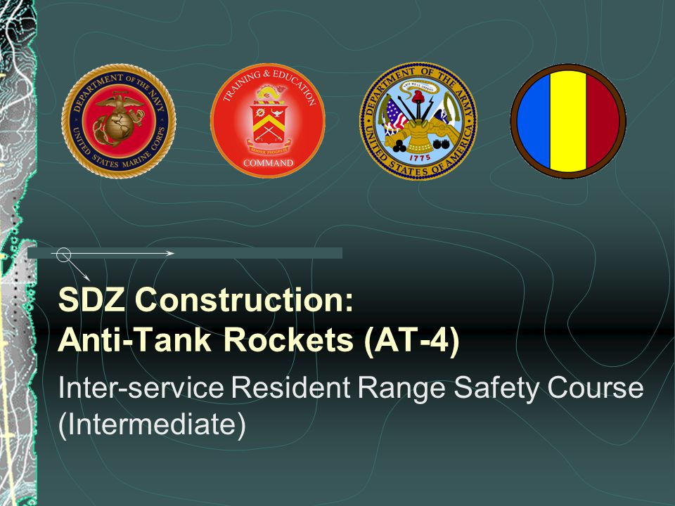 SDZ Construction: Anti-Tank Rockets (AT-4)