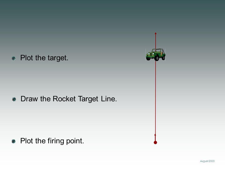 Draw the Rocket Target Line.