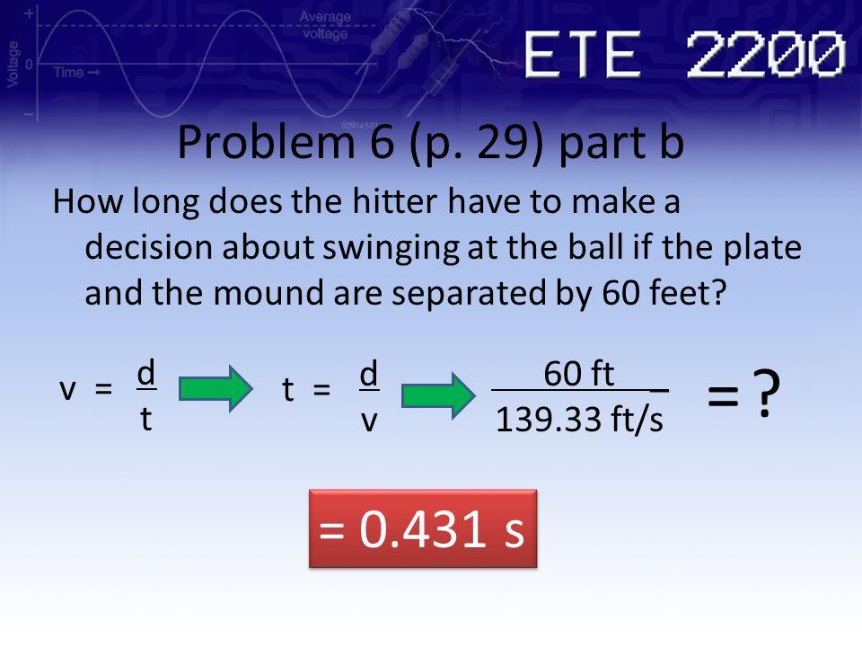 Problem 6 (p. 29) part b