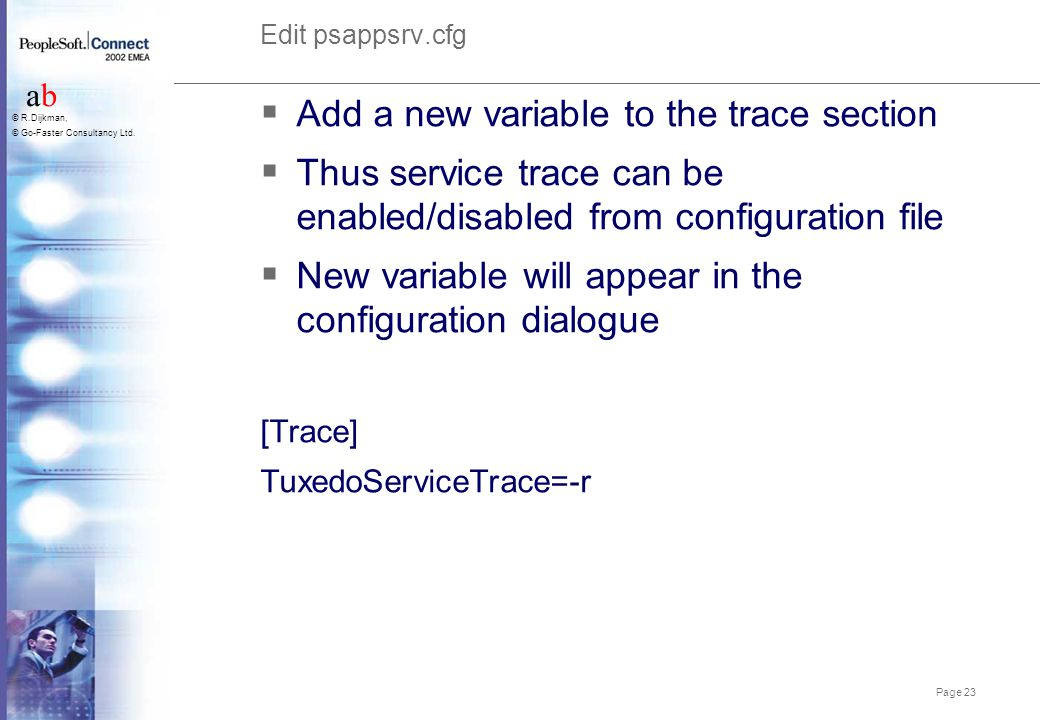Add a new variable to the trace section