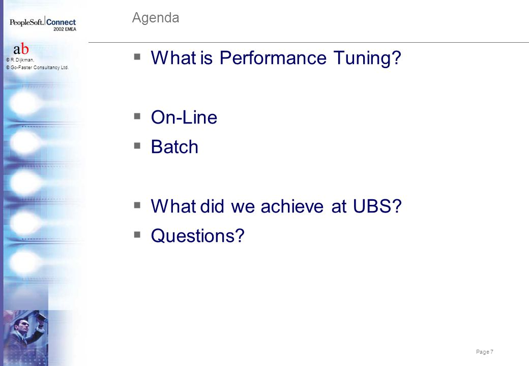 What is Performance Tuning On-Line Batch