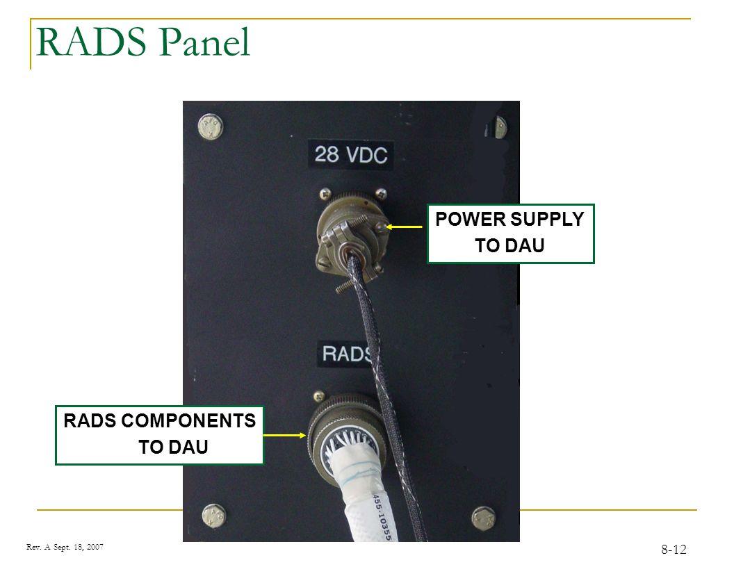 Optical RPM Sensor LED Indicates Power to sensor 8-