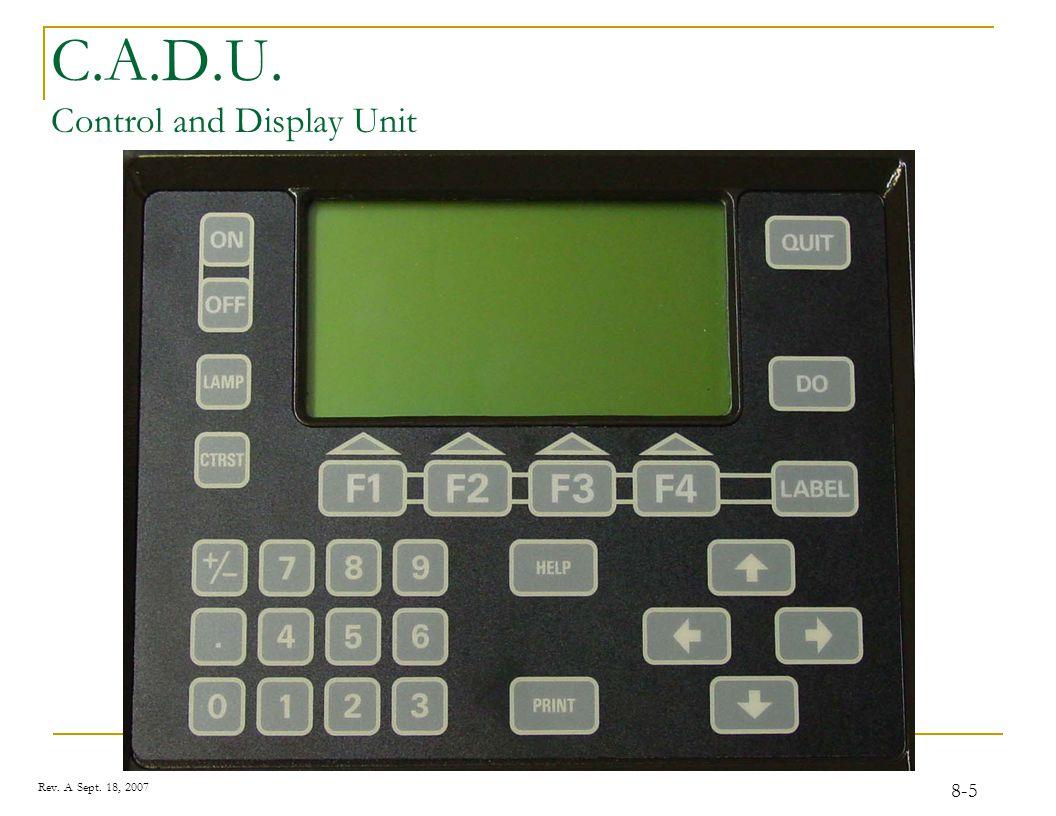 D.A.U Data Acquisition Unit