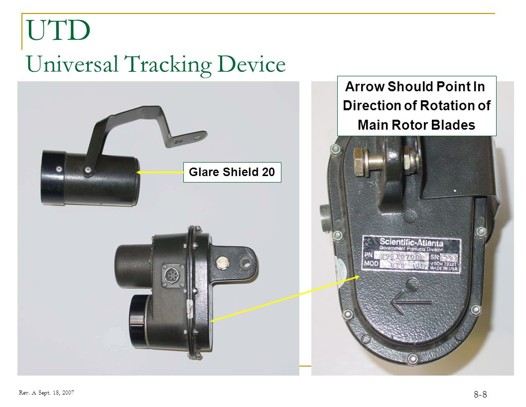 CADU / DAU For all tracking and vibration measurements you will use the CADU and the DAU.