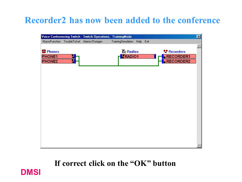 Recorder2 has now been added to the conference