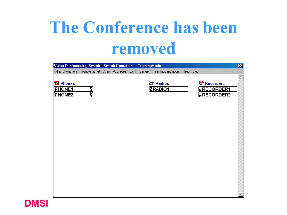 The Conference has been removed