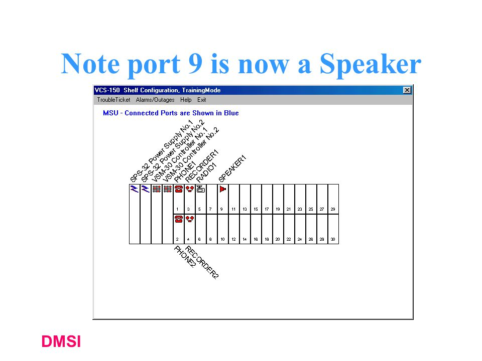 Note port 9 is now a Speaker