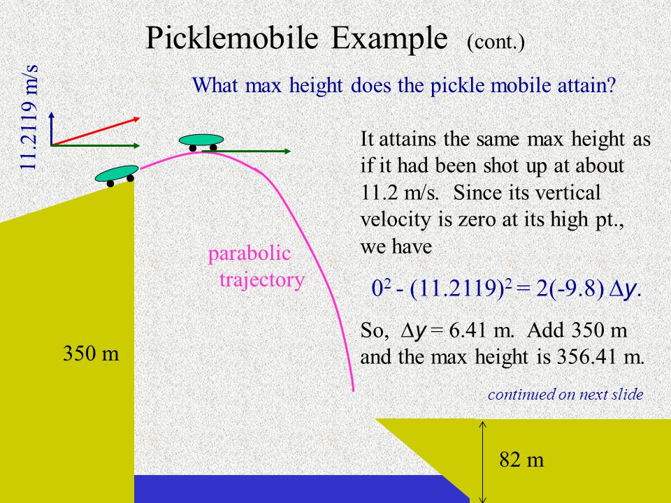 Picklemobile Example (cont.)