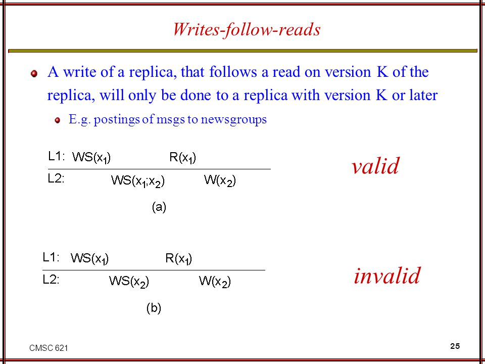 valid invalid Writes-follow-reads