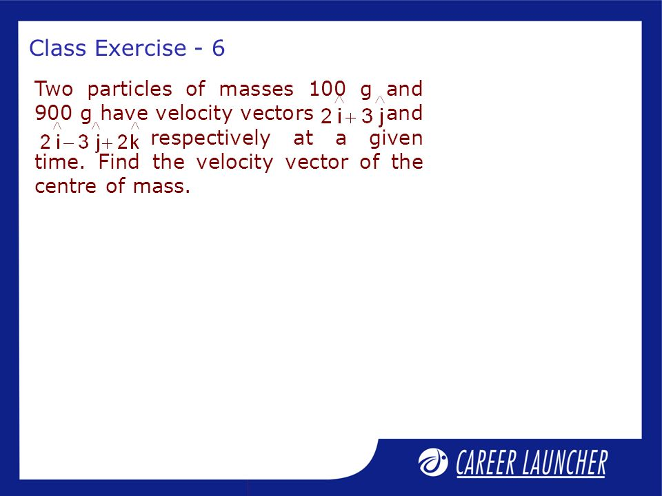 Class Exercise - 6