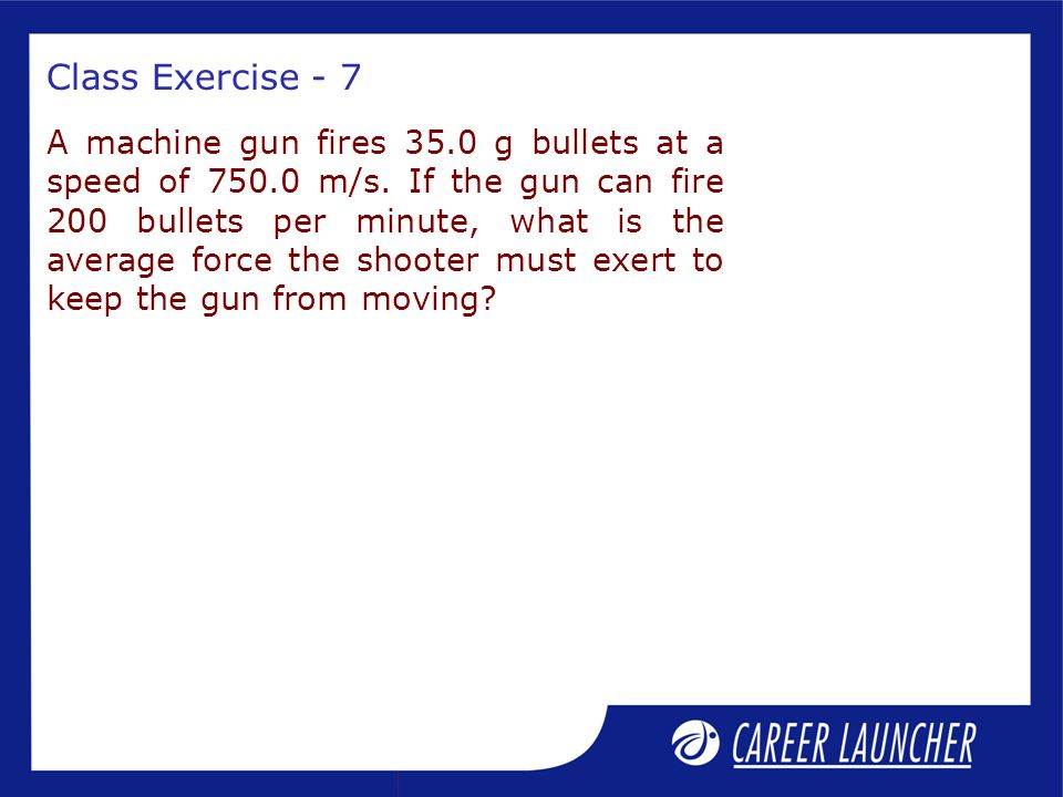 Class Exercise - 7
