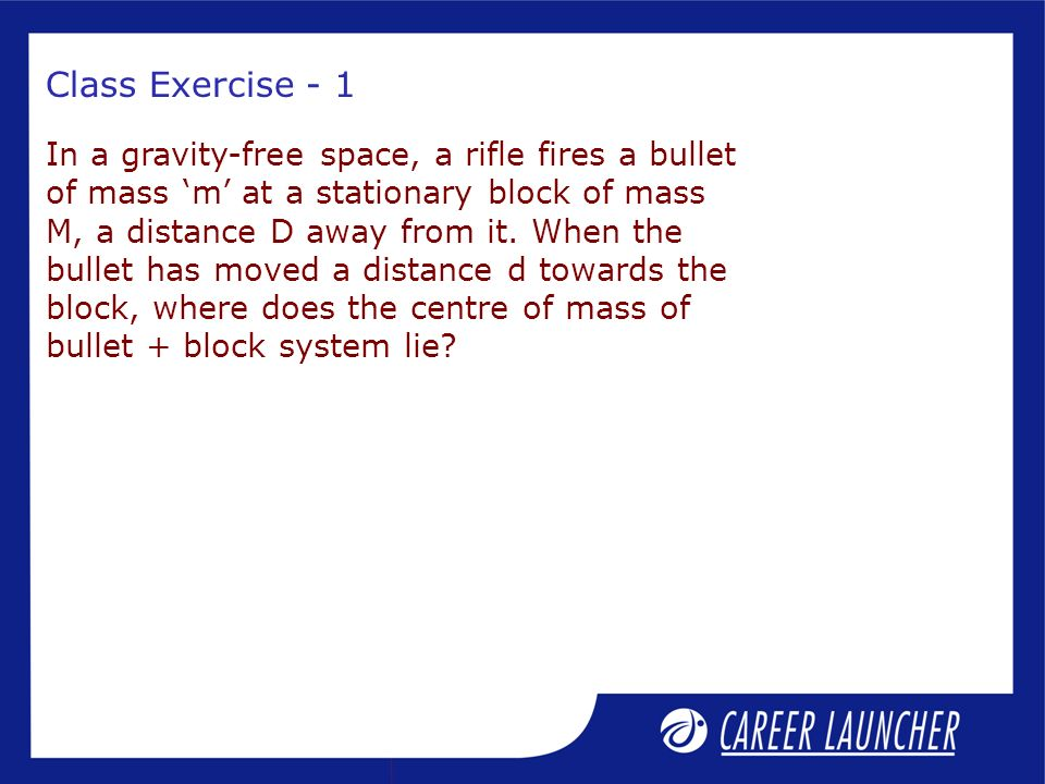 Class Exercise - 1