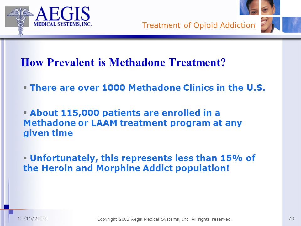 How Prevalent is Methadone Treatment