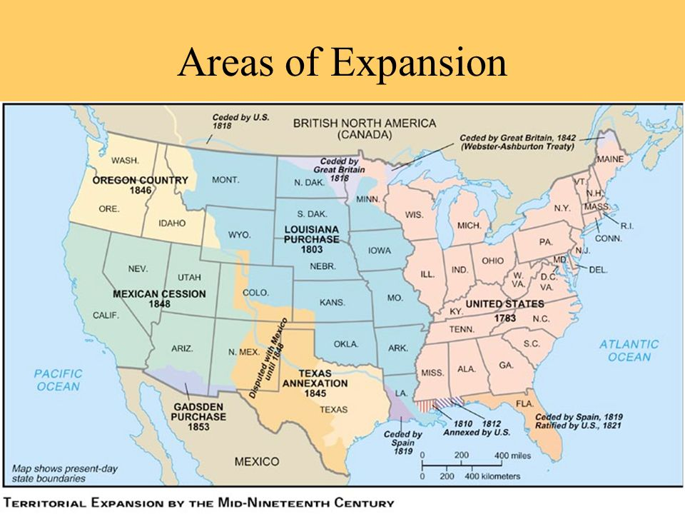 Areas of Expansion