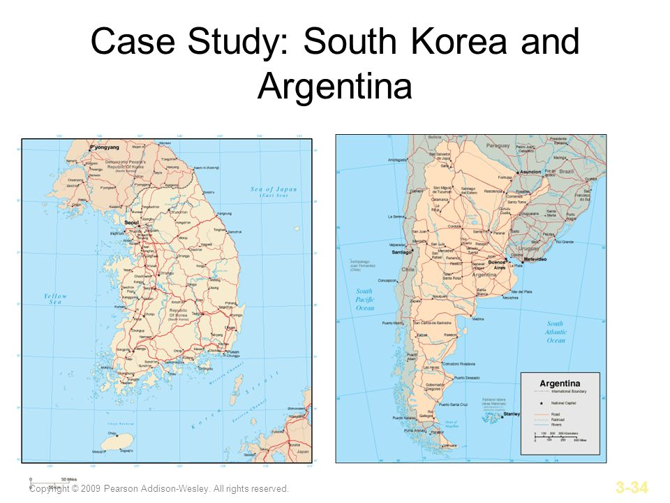 Case Study: South Korea and Argentina