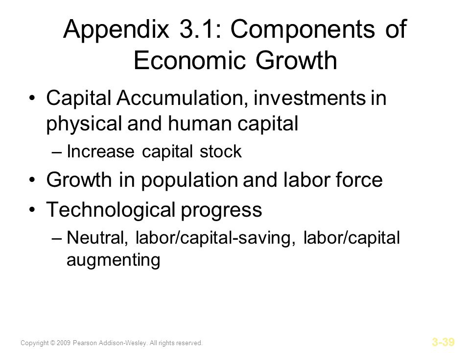 growth capital accumulation and the economics Implications (a) can capital accumulation sustain economic growth in the  long-run (b) can the model explain persistent (+30 years) differences in growth.