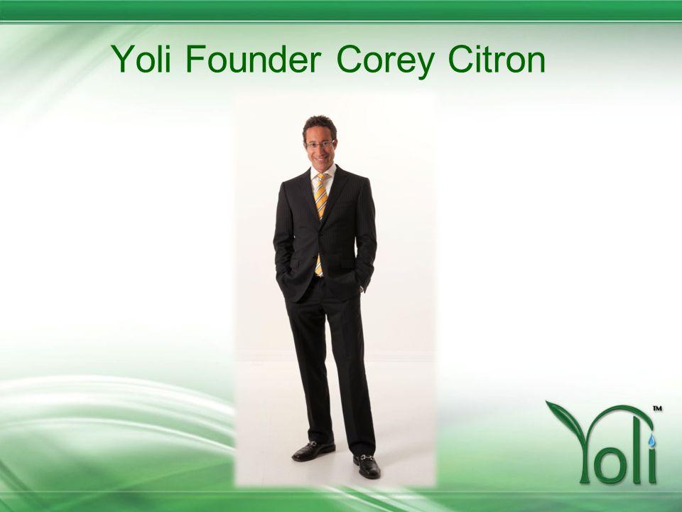 Yoli Founder Corey Citron