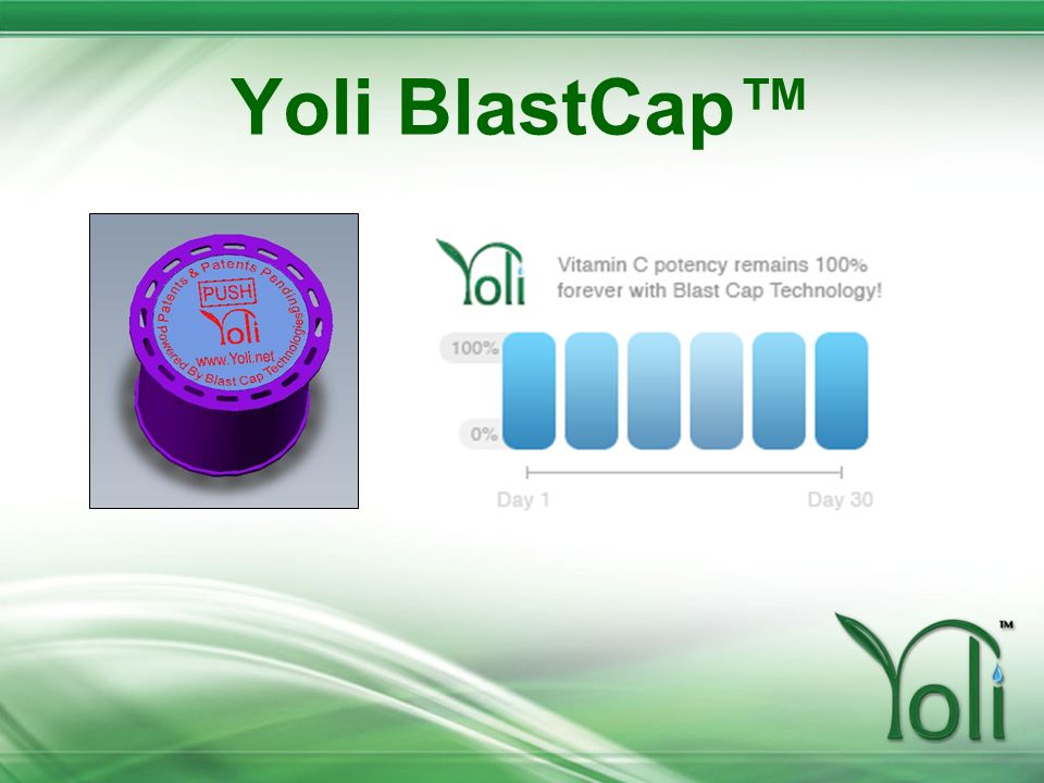 Yoli BlastCap™