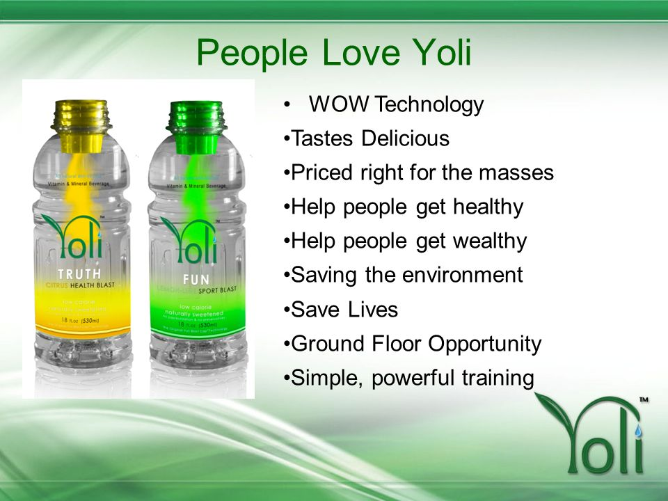 People Love Yoli WOW Technology Tastes Delicious