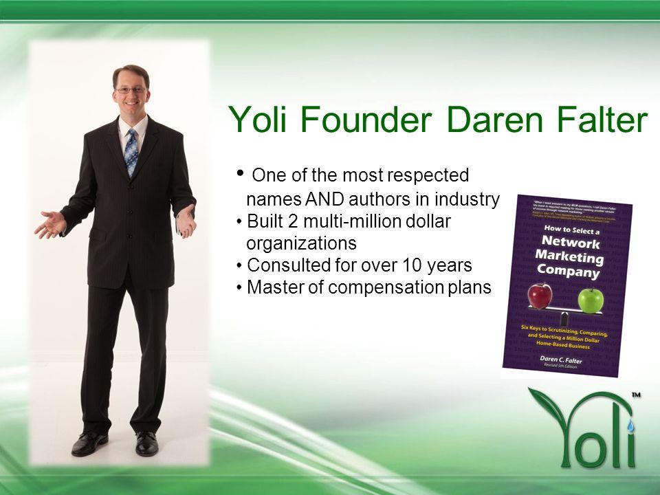 Yoli Founder Daren Falter