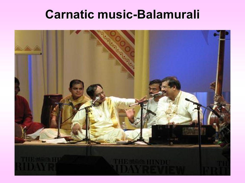 Carnatic music-Balamurali