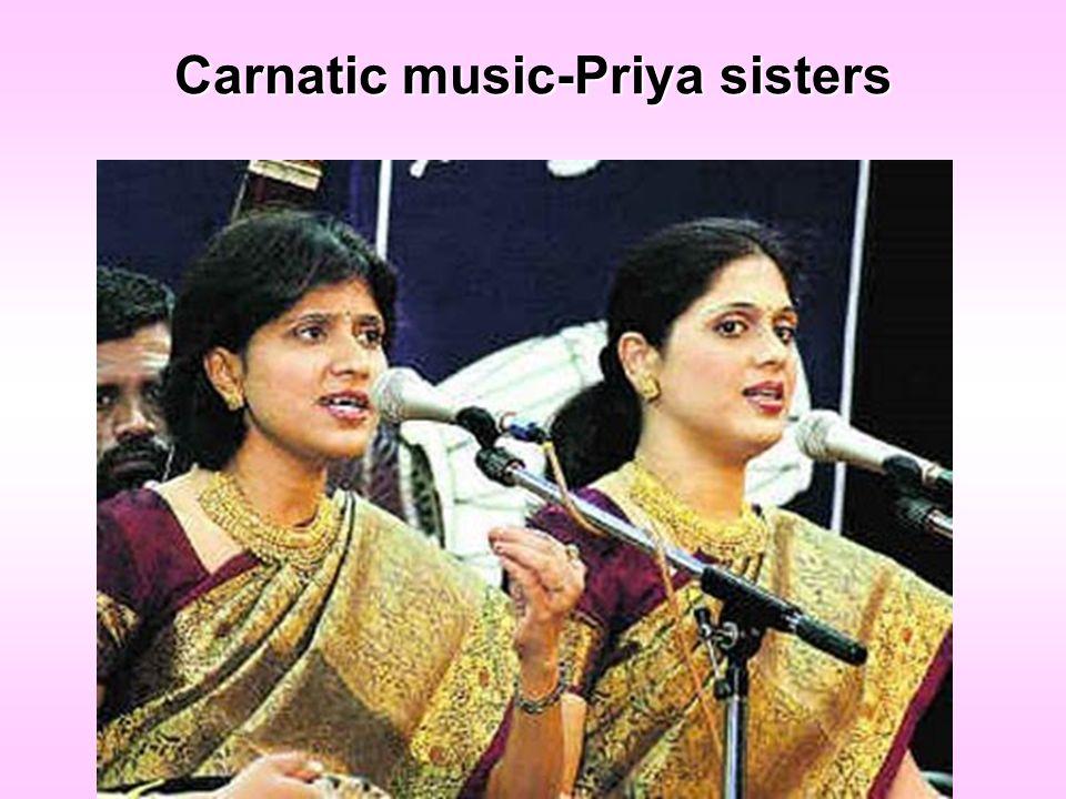 Carnatic music-Priya sisters