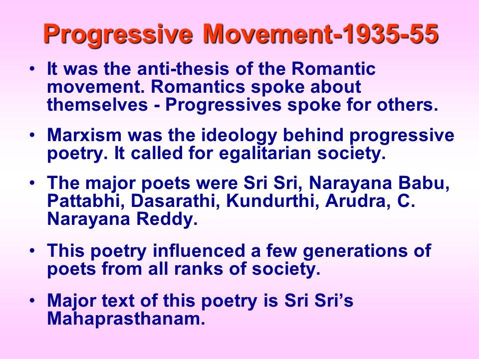 Progressive Movement-1935-55