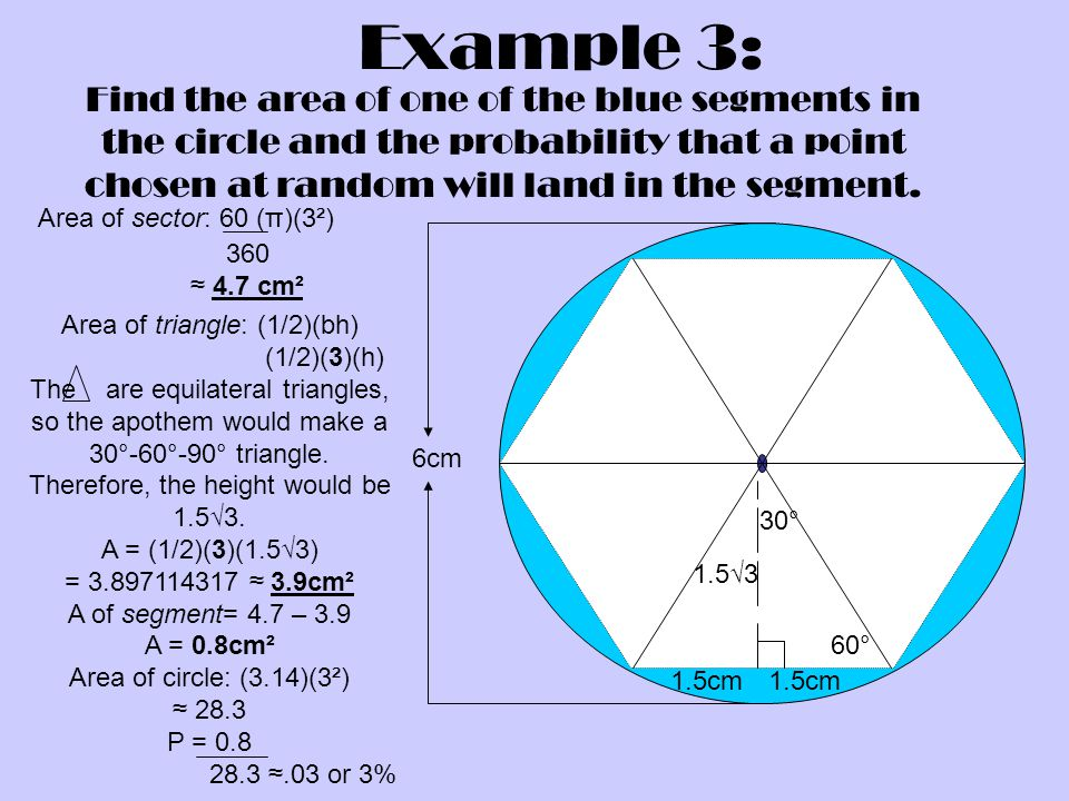 Geometric probability ppt video online download 16 example ccuart Gallery