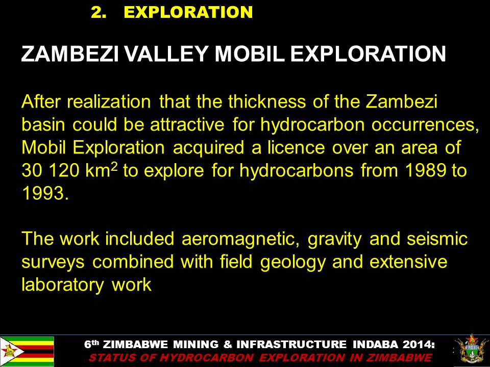 ZAMBEZI VALLEY MOBIL EXPLORATION