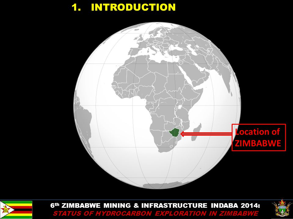 1. INTRODUCTION Location of ZIMBABWE