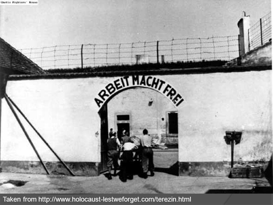 The Deception Begins… Taken from http://www.holocaust-lestweforget.com/terezin.html