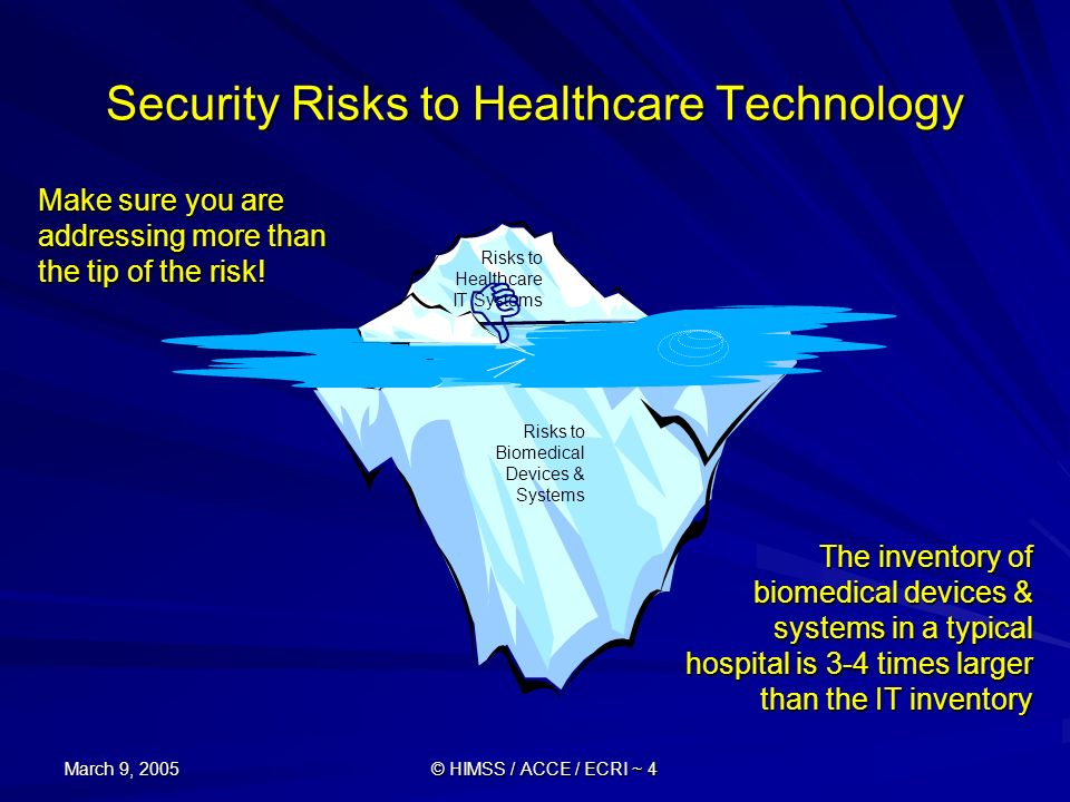 Security Risks to Healthcare Technology