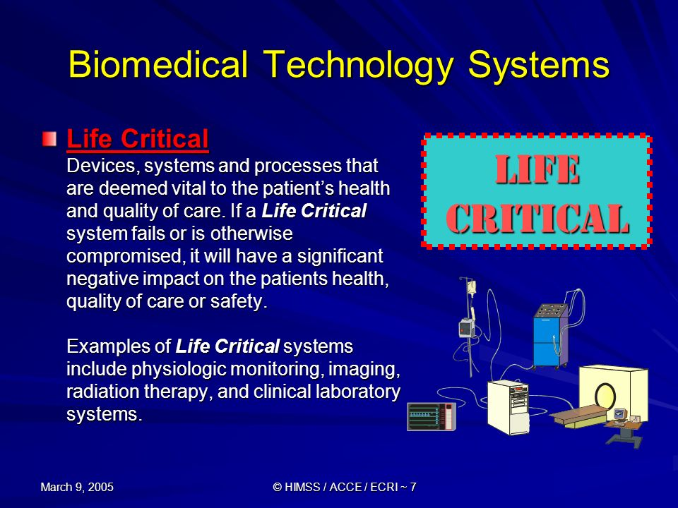 Biomedical Technology Systems