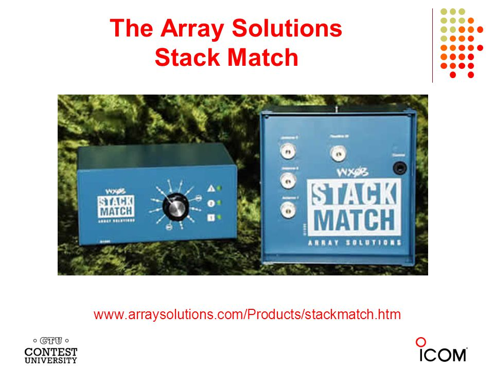 The Array Solutions Stack Match