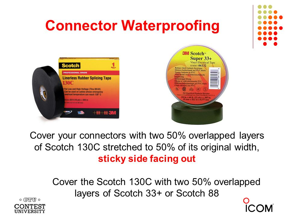 Connector Waterproofing