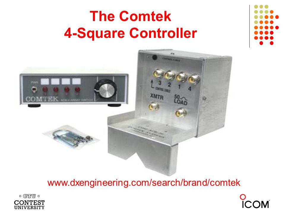 The Comtek 4-Square Controller