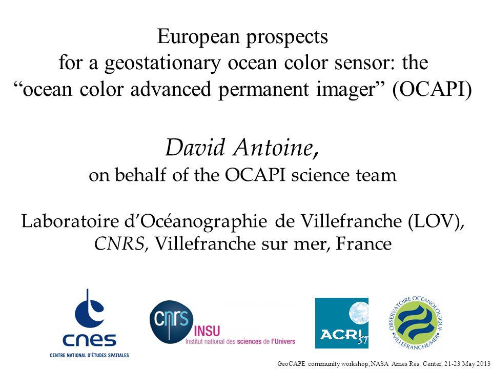 David Antoine, European prospects