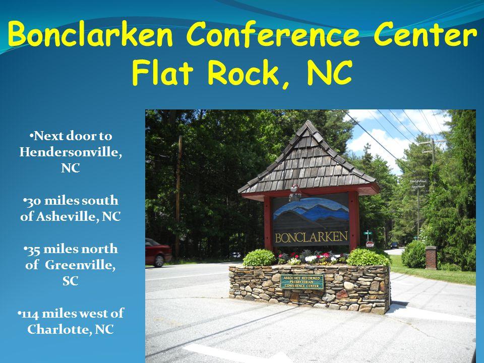 Bonclarken Conference Center Flat Rock, NC