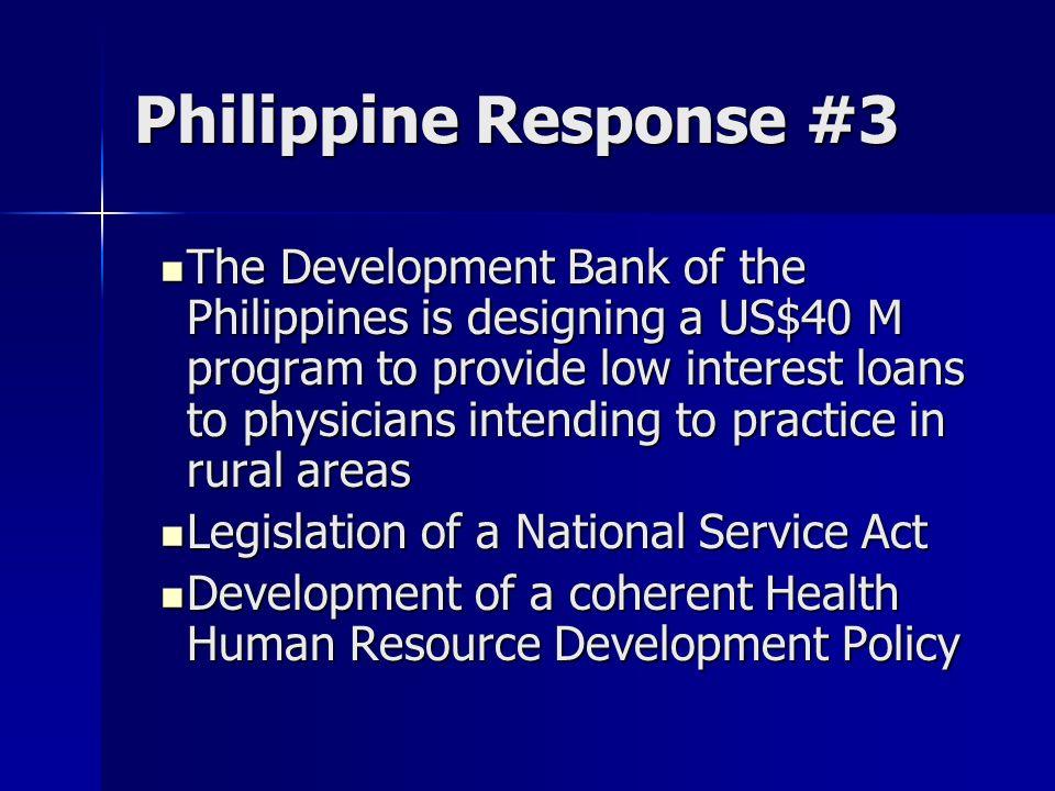 Philippine Response #3