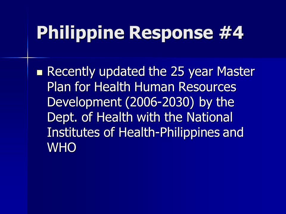 Philippine Response #4