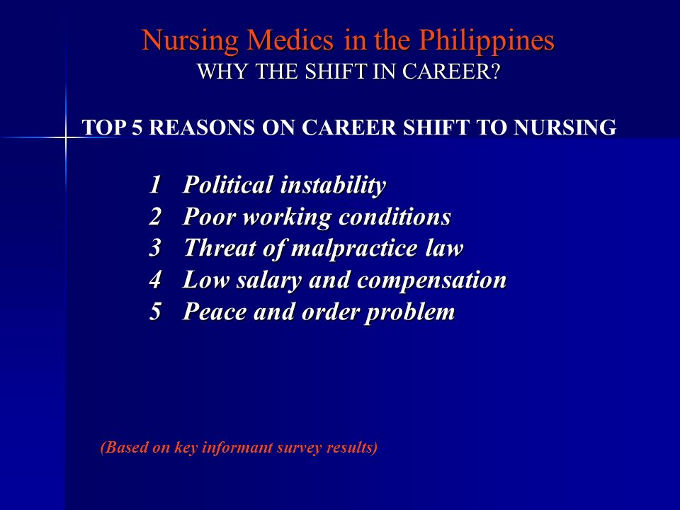 TOP 5 REASONS ON CAREER SHIFT TO NURSING