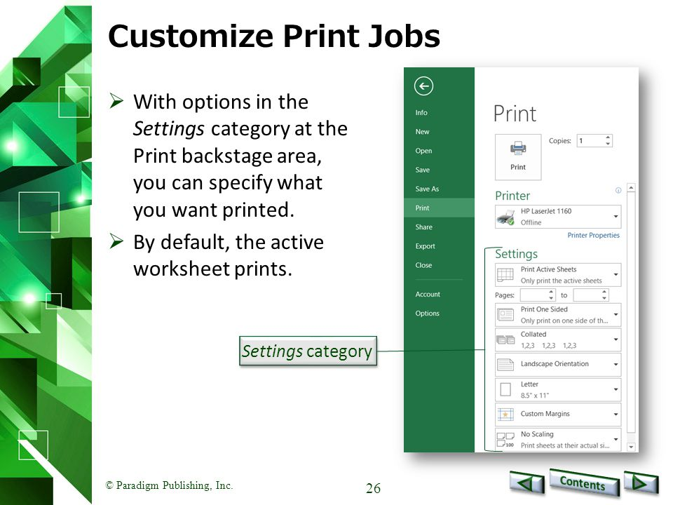 Benchmark Series Microsoft Excel 2010 Level 1