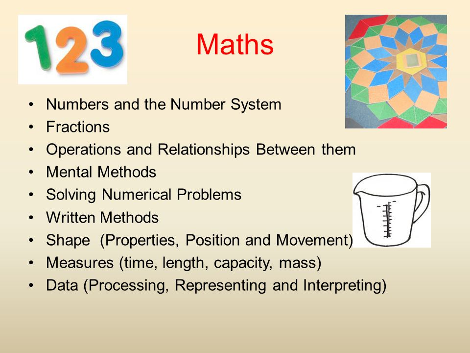 Maths Numbers and the Number System Fractions