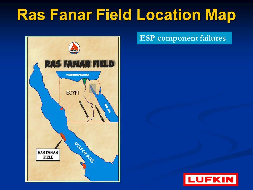 Ras Fanar Field Location Map