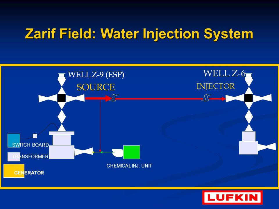 Zarif Field: Water Injection System