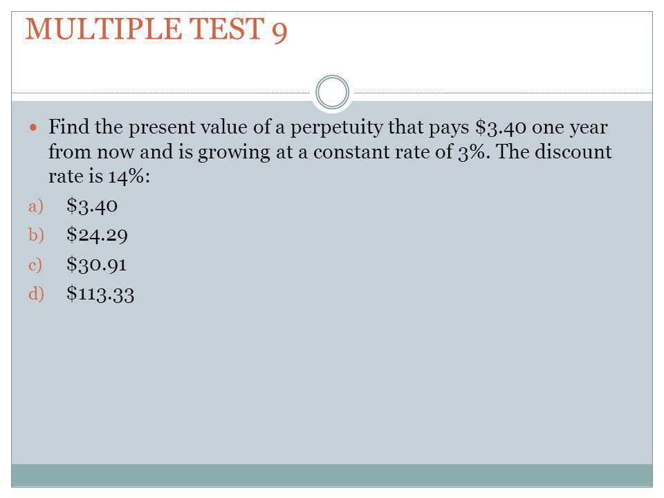 Multiple test 9