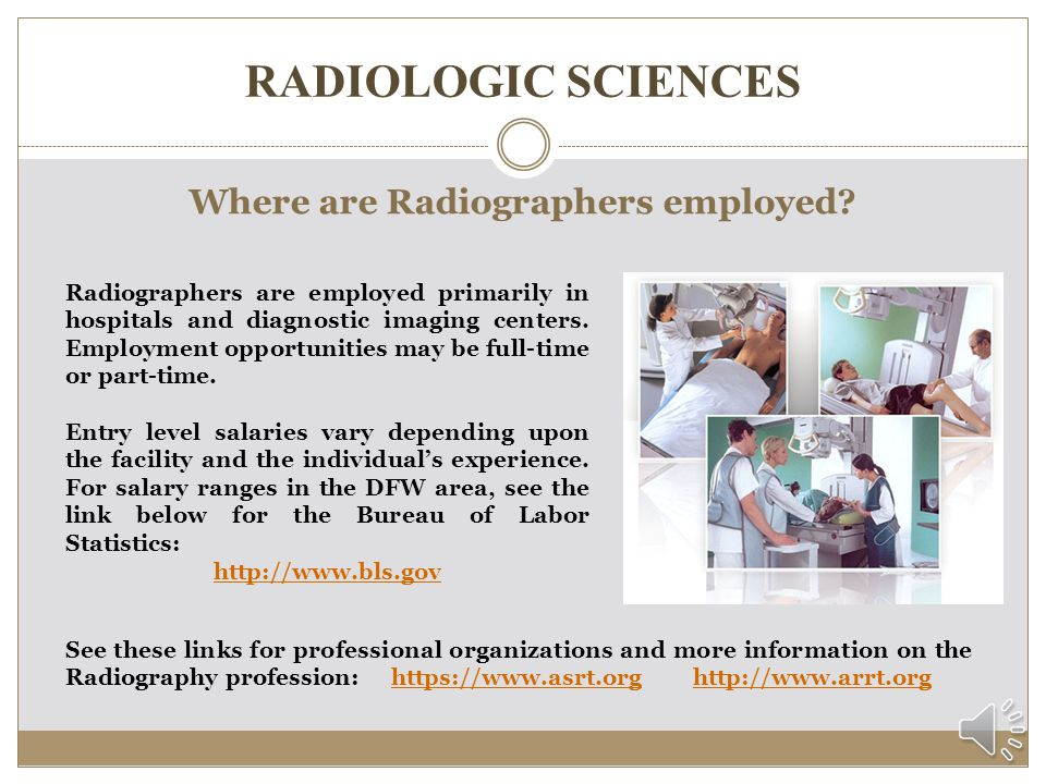 Where are Radiographers employed