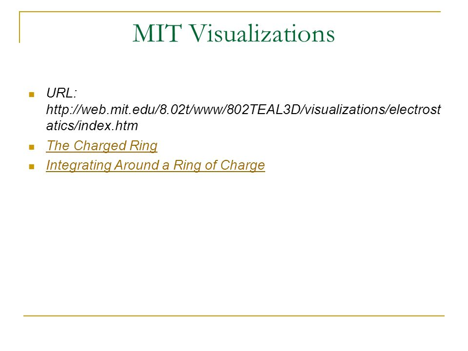 MIT Visualizations URL: http://web.mit.edu/8.02t/www/802TEAL3D/visualizations/electrostatics/index.htm.
